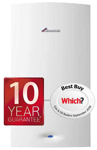 Worcester Bosch Boilers with 10 year guarantee on finance